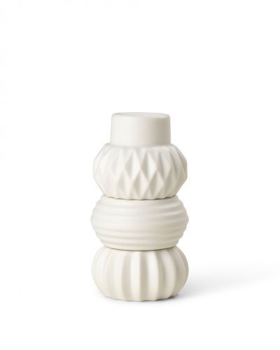 Samsurium Candlestack - White