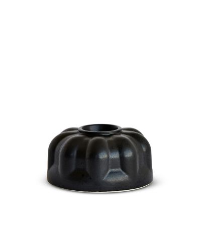 Alba Candlestick Three Black