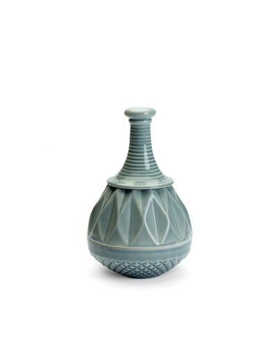 Samsurium Twinkle Dodo, lid jar, grey